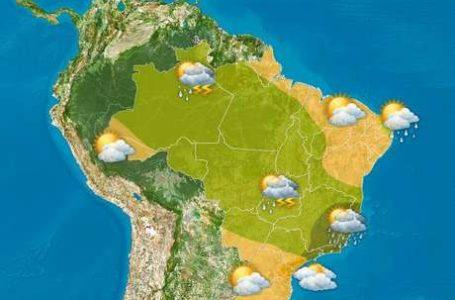 BAIXANDO A TEMPERATURA | Chuva deve cair no fim de semana no Centro-Oeste e Sudeste
