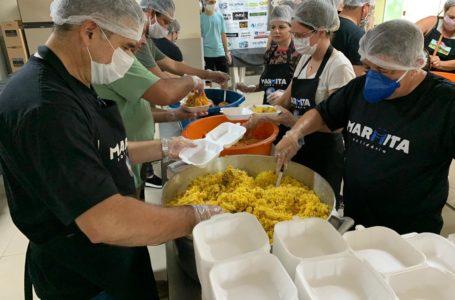 PROJETO MARMITA SOLIDÁRIA | Mais de 27 mil marmitas já foram distribuídas por ação social de maçons da Grande Loja Maçônica do DF