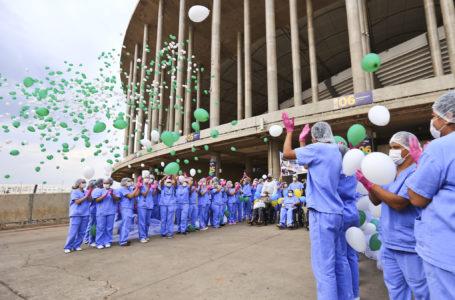 DEPOIS DE 5 MESES E MAIS DE 1,7 MIL VIDAS SALVAS | GDF encerra as atividades do Hospital de Campanha do Mané Garrincha
