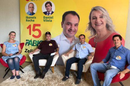 ELEIÇÕES 2020 | Ibaneis Rocha e Daniel Vilela vão a Valparaíso declarar apoio à reeleição de Pábio Mossoró