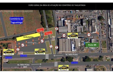ATENÇÃO, MOTORISTAS | Dia de Finados terá intervenções no trânsito nas proximidades dos cemitérios