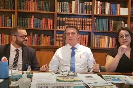 VOLTA AO PASSADO   Bolsonaro defende o retorno do voto impresso que pode custar R$ 2,5 bi