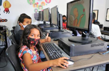 RECICLAGEM DE LIXO ELETRÔNICO   Programa do GDF inaugura seu primeiro laboratório de inclusão digital