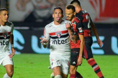 MAIS UMA GOLEADA | São Paulo bate o Flamengo por 3 a 0 e está nas semis da Copa do Brasil