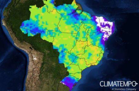 CHUVAS E VENTOS FORTES | Frente fria muda o tempo no Brasil nesta semana