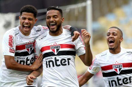 APANHOU EM CASA | São Paulo goleia Flamengo no Rio