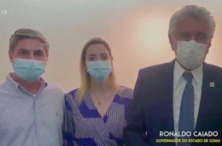 ÁGUAS LINDAS DE GOIÁS | Caiado não reconhece candidato do DEM e declara apoio ao Dr. Lucas da Santa Mônica