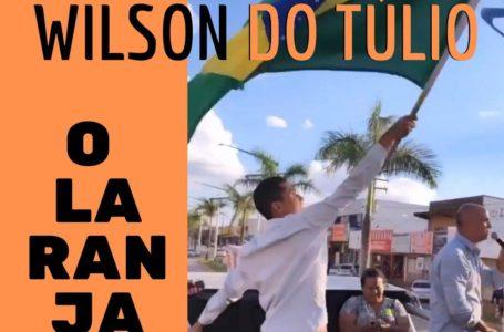 ÁGUAS LINDAS DE GOIÁS | Marco Túlio põe candidato laranja para balançar bandeira em cima do trio