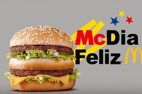 AÇÃO SOLIDÁRIA | GDF isenta ICMS de todos os BigMacs no sábado (21), dia do McDia Feliz