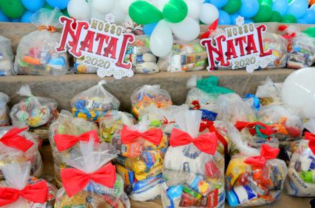 NOSSO NATAL 2020 | Campanha promovida pela primeira-dama do DF entrega cestas especiais para 13 mil famílias