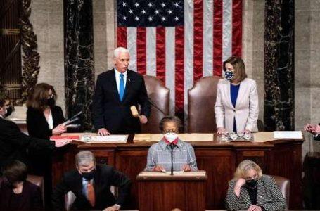 APÓS INVASÃO | Congresso dos EUA confirma vitória de Joe Biden