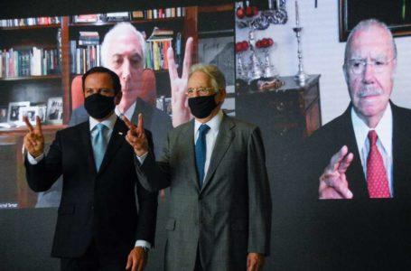 QUERENDO MOSTRAR FORÇA | Doria promove evento em prol da vacina com os ex-presidentes Sarney, FHC e Temer