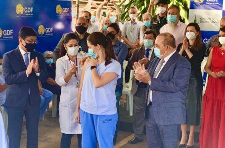 1ª ETAPA DA IMUNIZAÇÃO | GDF começa a vacinação contra a Covid-19 pelo Hran