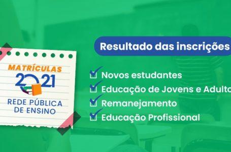 ATENÇÃO, PAIS E ESTUDANTES | GDF divulga resultado das inscrições na rede pública de ensino