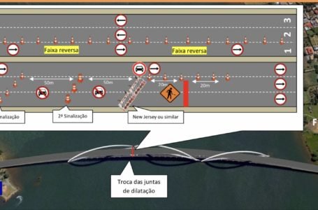 A PARTIR DAS 22H DE HOJE   Detran-DF vai implantar faixa reversa na Ponte JK até às 5h de segunda (25)