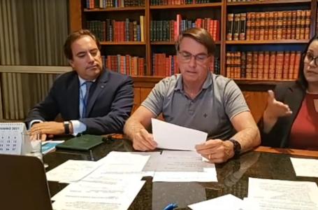 COM PARCELAS DE R$ 250 | Bolsonaro anuncia retorno do auxílio emergencial