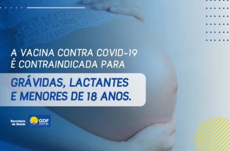 VACINAÇÃO CONTRA COVID | Especialista alerta que vacina é contraindicada para grávidas, lactantes e menores de 18 anos