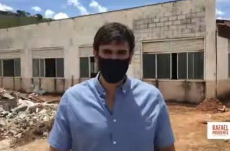 SÃO SEBASTIÃO | Rafael Prudente visita obras do Complexo Educacional