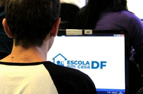 BOA ACEITAÇÃO | Acesso às aulas virtuais nas escolas públicas do DF bate recorde nos três primeiros dias