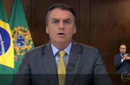 GOVERNO PRESSIONADO   Bolsonaro faz pronunciamento e é alvo de panelaços pelo país