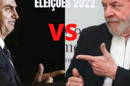 O FINO DA POLÍTICA   Bolsonaristas e petistas se preparam para a disputa entre seus líderes em 2022