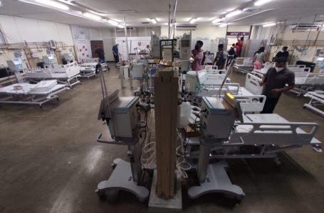 REFORÇO NO ATENDIMENTO   Hospital de Base começou a instalar novos leitos de UTI para Covid-19