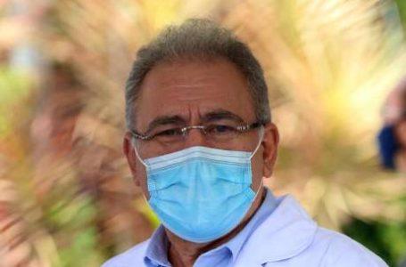 PARA EVITAR LOCKDOWN   Ministro da Saúde faz apelo para que a população use máscara