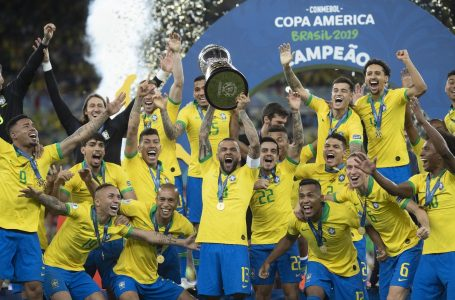 RANKING DA FIFA | Seleção brasileira continua em terceiro lugar