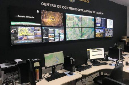 POR VIDEOMONITORAMENTO | Fiscalização do Detran-DF autua 1.162 condutores nas vias do aeroporto