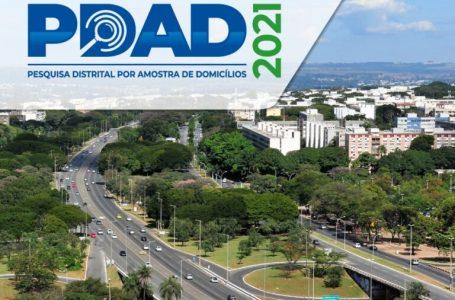 PDAD 2021 | Codeplan inicia coleta de dados da população do DF