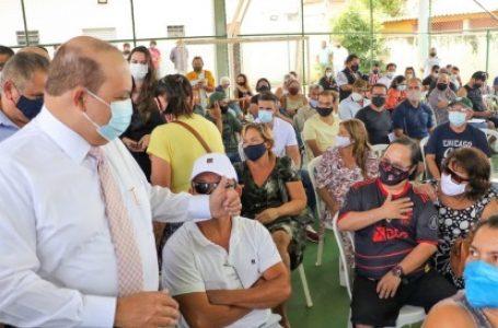 REGULARIZAÇÃO DE ARNIQUEIRA   Ibaneis anuncia legalização de imóveis e investimentos de mais de R$ 35 milhões na região
