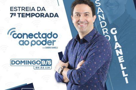 SÉTIMA TEMPORADA | Conectado ao Poder estreia domingo (9), às 9h, na rádio Metrópoles FM