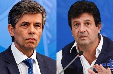 CPI DA COVID | Senadores ouvem ex-ministros Mandetta e Teich nesta terça (4)