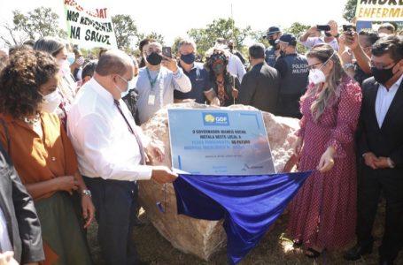 ABANDONADO PELA GESTÃO PASSADA | Ibaneis dá início a construção do Hospital Oncológico Dr. Jofran Frejat