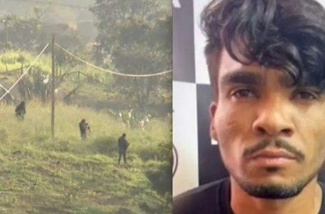 CAÇADA A LÁZARO | Operação prende chacareiro e seu caseiro que alimentavam e escondiam o serial killer que continua foragido