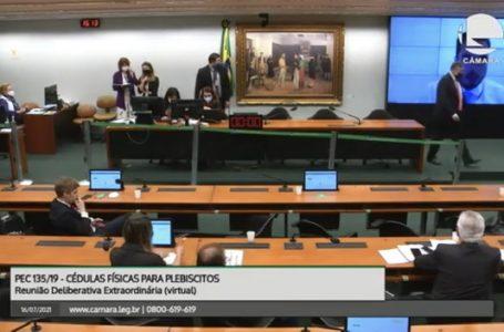 SEM CONSENSO | Análise da proposta do voto impresso fica para depois do recesso parlamentar