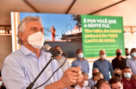 PARA SETEMBRO | Caiado anuncia retomada das obras do Hospital de Águas Lindas
