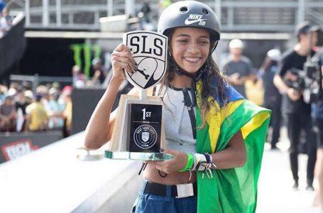 BRILHOU NOVAMENTE | Rayssa Leal vence Mundial de Skate Street após acertar última manobra