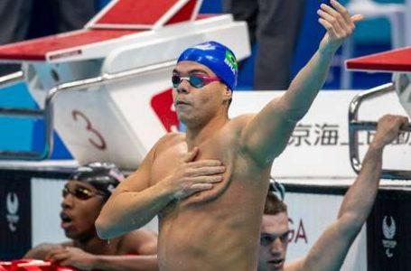 JOGOS PARALÍMPICOS | 1º ouro para o Brasil vem da natação com Gabriel Bandeira que quebra recorde da prova