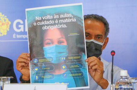 VOLTA ÀS AULAS | GDF lança campanha educativa de combate à covid-19