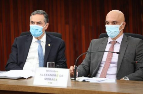 EXTRAPOLAM LIMITES CONSTITUCIONAIS   Bolsonaro vai pedir ao Senado que instaure processo contra ministros Moraes e Barroso