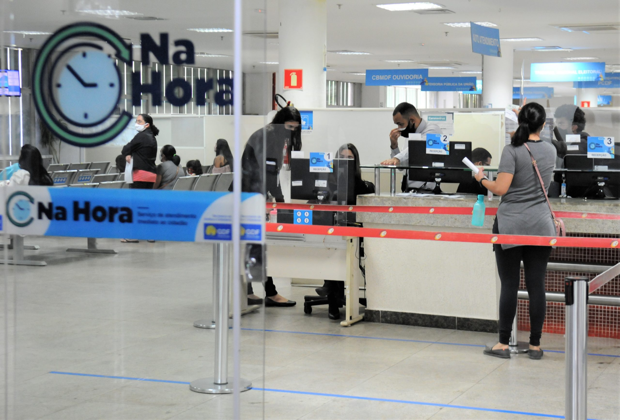 MODERNIZAÇÃO DO NA HORA | BRB dá o primeiro passo para remodelar as unidades e melhorar atendimento e serviços prestados aos cidadãos