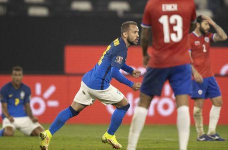 COPA DO CATAR 2022 | Mesmo jogando mal, Brasil vence o Chile e mantém 100% de aproveitamento nas eliminatórias