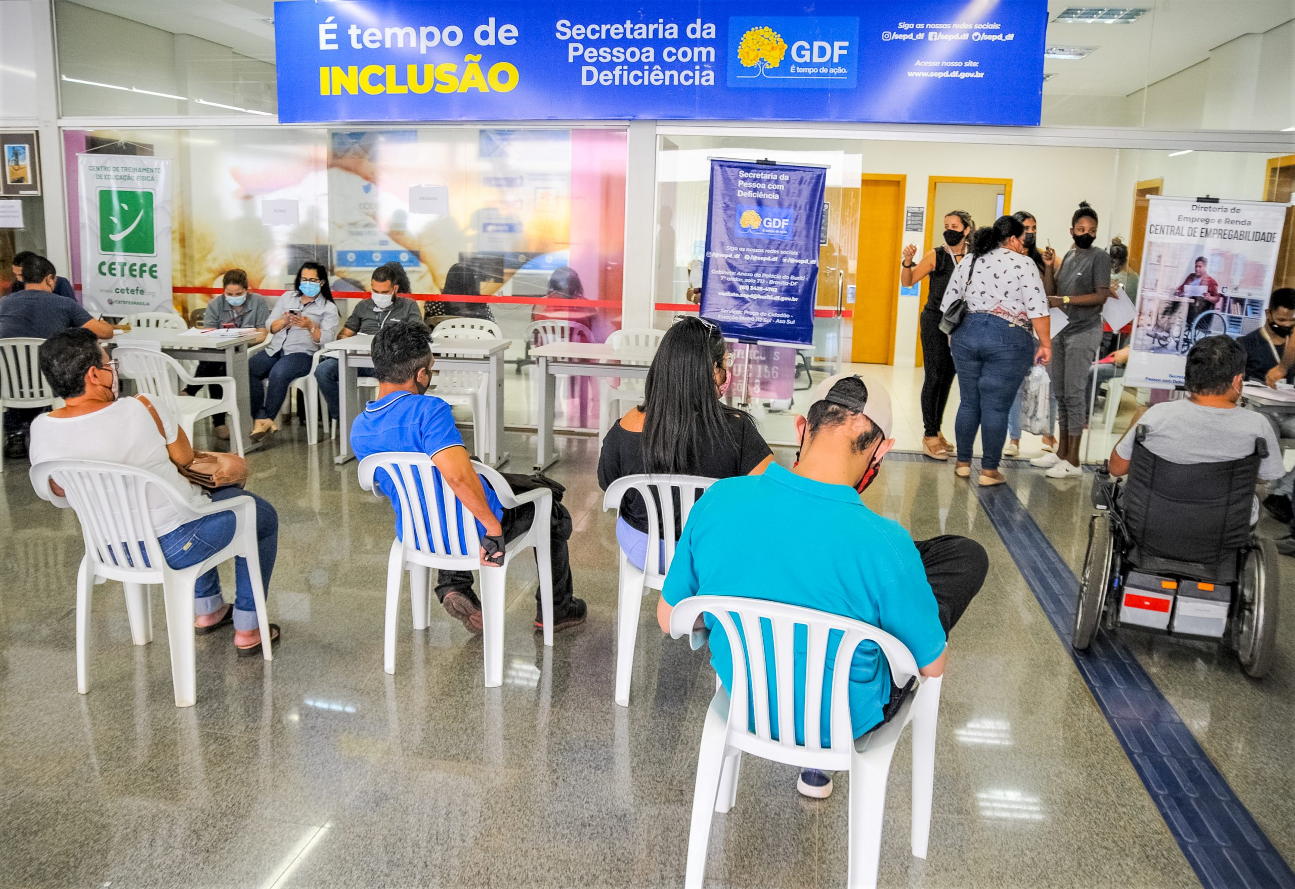 MERCADO DE TRABALHO | GDF quer fortalecer parceria com empresas para ampliar as vagas de emprego para pessoas com deficiência