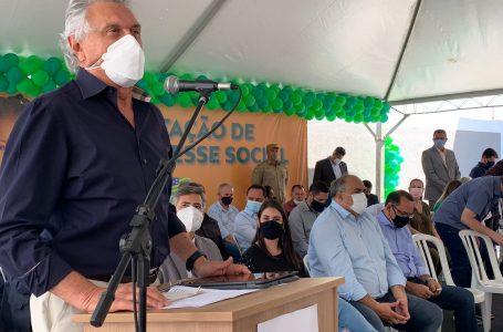 CUIDANDO DO ENTORNO   Caiado quer construir hospital em Valparaíso e entregar o de Águas Lindas em 2022