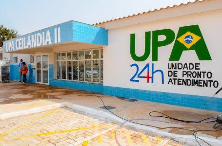 REFORÇO NA SAÚDE   Ibaneis entrega UPA para a população de Ceilândia