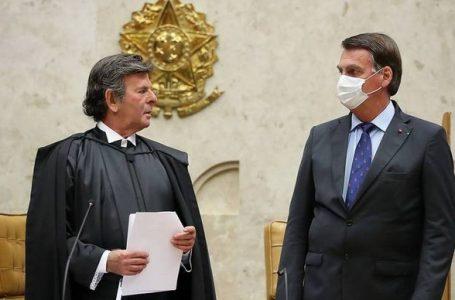 EM RESPOSTA A BOLSONARO | Luiz Fux fará discurso em defesa do STF contra Bolsonaro
