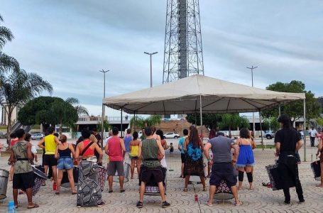 TODO 2º DOMINGO DO MÊS | Comboio Percussivo realIza ensaio aberto na Torre de TV