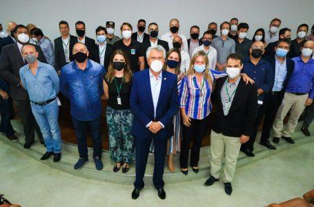 ESTADO RECUPERADO   Caiado anuncia que Goiás venceu a corrupção e superou déficit de R$ 6 bilhões herdados de gestão passada